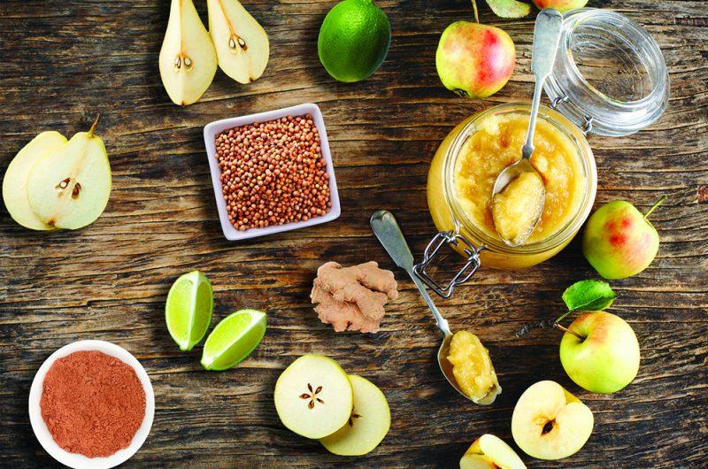 Compote poire-pomme aux épices