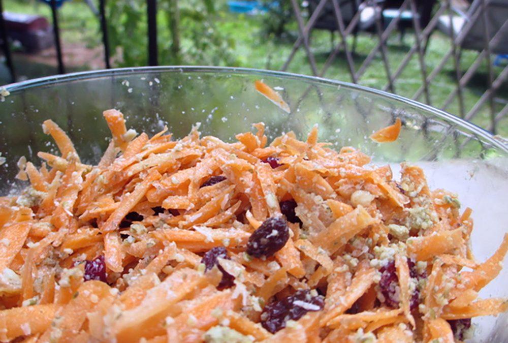 Salade de carottes soleil