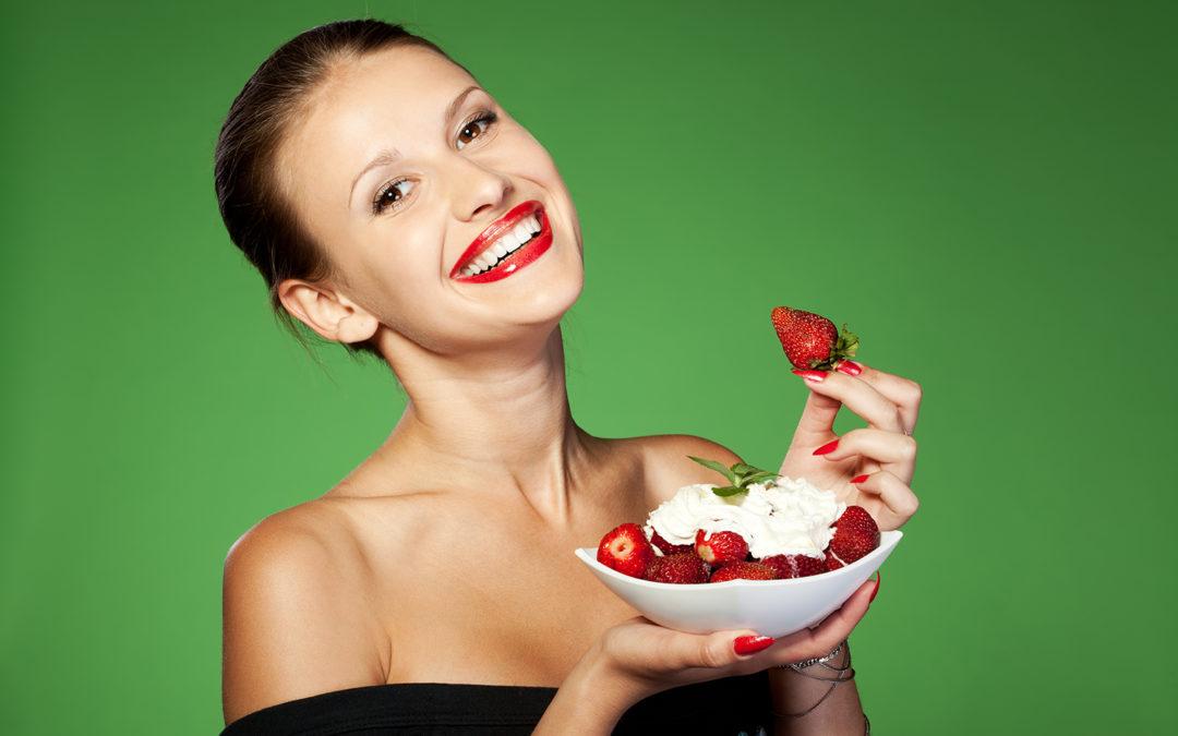 Des aliments pour blanchir les dents