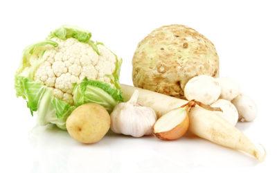 Les vertus des légumes blancs