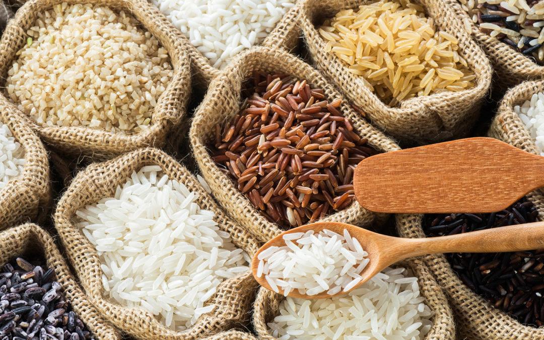 Les vertus des différentes variétés de riz