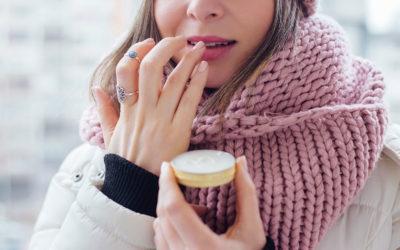 Un peu de douceur pour les lèvres gercées